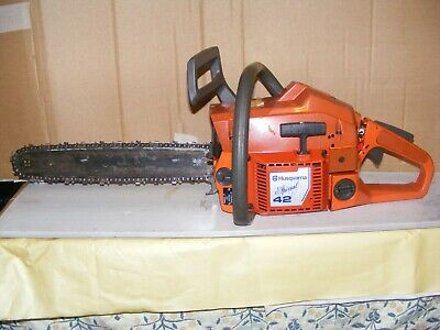 View Details Husqvarna 42 Special Chainsaw Starts/runs/works Well New Chain • 65.00£