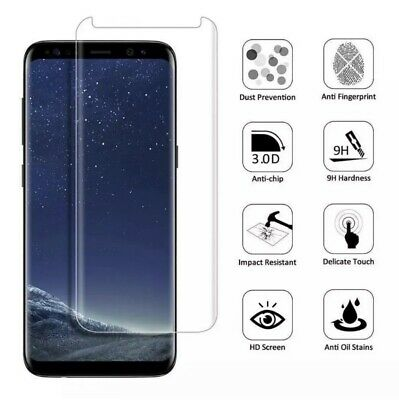 $ CDN6.21 • Buy Case Friendly Tempered Glass Screen Protector For Samsung Galaxy S8 S8 Plus