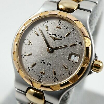 $ CDN345 • Buy LONGINES CONQUEST Silver Dial Ref. L1.114.3 Cal. L160.2 Swiss Vintage Watch