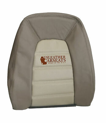 $119.99 • Buy 2002-2005 Ford Explorer Driver Lean Back Synthetic Leather Seat Cover 2 Tone Tan