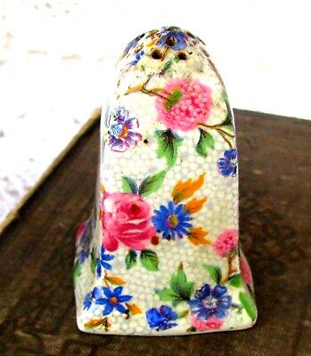 $ CDN22 • Buy Royal Winton Old Cottage Chintz Salt Shaker, Flower Chintz Shaker C.1930s