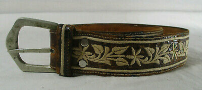 $60 • Buy Vintage Leather Childrens Belt #377