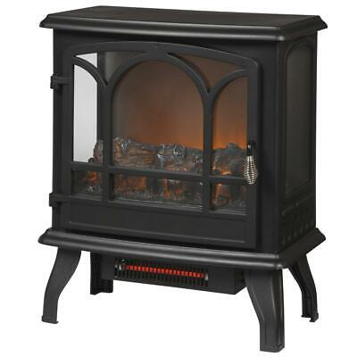 $144.99 • Buy Electric Stove Infrared 1,000 Sq. Ft. Fireplace Panoramic Heater Legion In Black