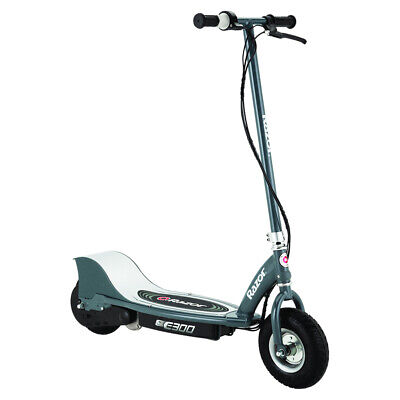 AU479 • Buy Razor E300 Ride On Electric Scooter Kids/Adults Rechargeable/Up To 24km/h Grey