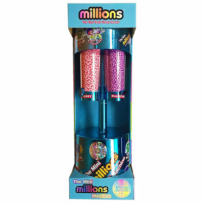 Mini Millions Sweet Dispenser Machine Toy Ideal Gift For Christmas Blue • 123.95£