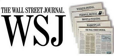 $82.95 • Buy Wall Street Journal 1 Year Print Subscription