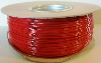 Model Railway/Railroad Layout/Power/Dropper Wire 100m Roll 16/0.2mm 3A Red +POST • 12.99£