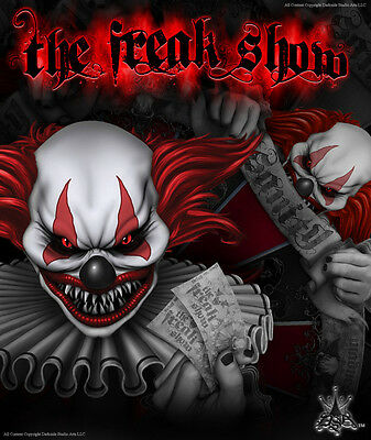 AU239.59 • Buy Yamaha Banshee Graphics Red Accent For Black Parts  The Freak Show  Decals