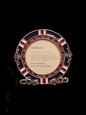 Vintage Britannia Picture Frame From Past Times - Boxed New However Some Marks • 12.50£