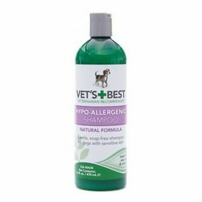 Hypo-Allergenic Shampoo For Dogs W Sensitive Skin Relieves Dry Itchy Skin 470ml • 14.50£