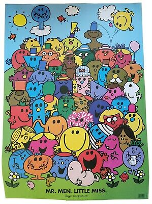 £2.90 • Buy Mr Men And Little Miss Character Wrapping Paper Gift Wrap Poster 50x70cm