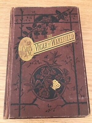 Rare Antique The Vicar Of Wakefield - Oliver Goldsmith - Walter Scott1885 London • 8.99£