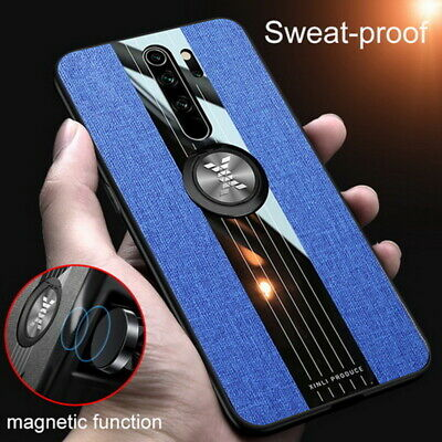 $7.99 • Buy For Xiaomi Redmi Note 8 7 Pro Mi 9 Magnetic Ring Case Hybrid Cloth Fabric Cover