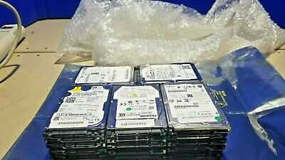 $ CDN99 • Buy MIXED LOT OF 25/ 80-GB Used SATA 2.5 LAPTOP HARD DRIVES (Tested And Wiped)