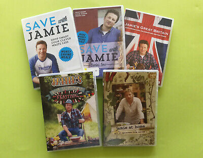 AU21.25 • Buy Jamie Oliver DVD Collection (Select)
