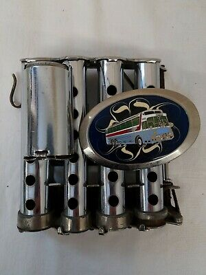 $40 • Buy Vintage Change Dispenser 5 Coin Chambers With Bus Belt Buckle McGill J.L. Calef