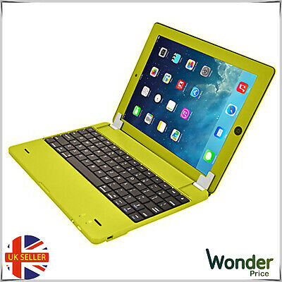 Slim Wireless Keyboard Cover For Apple IPad2 And New IMac Tablet Phones Yellow • 5.85£