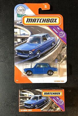$4.25 • Buy  Matchbox '69 BMW 2002 Highway LOT Of 2 Cars Box Power Grabs