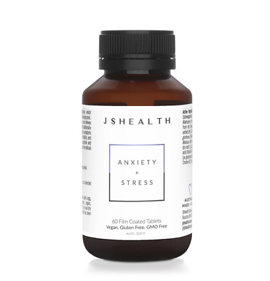 AU49.95 • Buy Js Health Anxiety + Stress 60t - Designed To Reduce Stress & Irritability