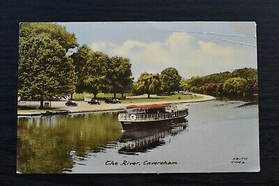 Postcard The River Caversham Berkshire Posted C1960s Friths Series  • 4£