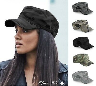 £7.95 • Buy Mens Womens Camouflage Army Hat Camo Military Cadet Combat Fishing Baseball Cap