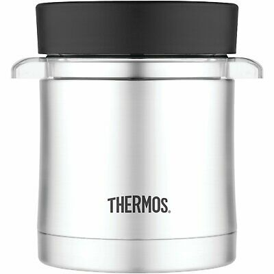 AU39.61 • Buy Thermos 12 Ounce Food Jar With Microwavable Container, Stainless Steel