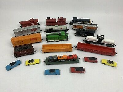 $ CDN106.66 • Buy Ho Scale Trains Lot! (Tyco, AHM, Roco, Lima) 14 Total, 2 Engines, With Tractors