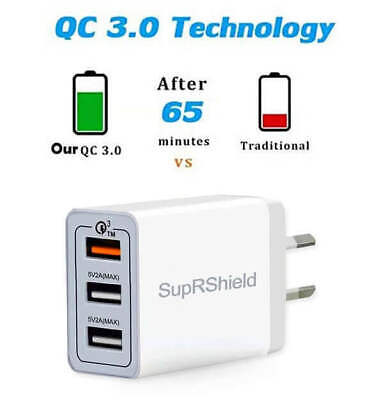 AU17.99 • Buy Universal Travel QC 5V 2A USB AC Wall Home Charger Power Adapter AU Plug Phone