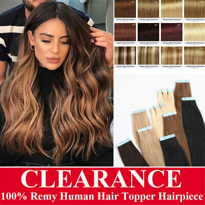 Big Sale 100% Russian Remy Tape In Human Hair Extensions Ombre Smooth Long C121 • 26.76£