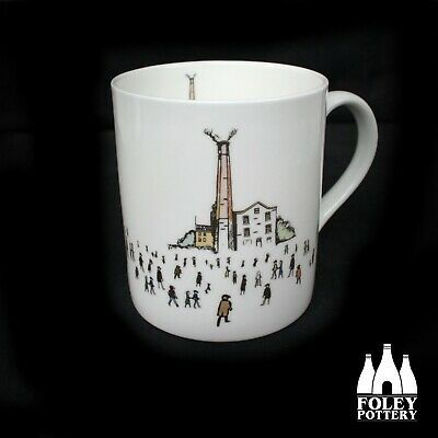 GB: Quarrybank Mill, Manchester Lowry, Inspired Bone China Mug By Foley Pottery  • 16.95£