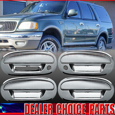 $17.97 • Buy 2001-2003 Ford F150 Crew 97-02 Expedition Chrome 4 Door Handle COVERS W/KP W/PKH