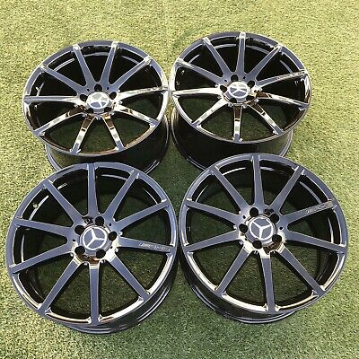 $1989 • Buy 19  Mercedes Forged Wheels Rims Black S550 S63 Cl63 S560 S450 Oem Factory Set