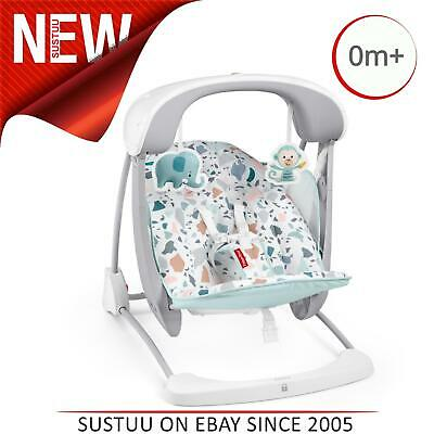 £79.25 • Buy Fisher-Price Terrazzo Take Along Swing & Seat│infant Baby Resting/Relaxing Chair