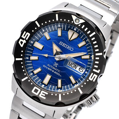 $ CDN536.31 • Buy SEIKO Prospex Save The Ocean Monster Diver SRPE09K1 Automatic Limited Warranty