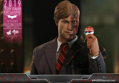 $ CDN358.13 • Buy Hot Toys MMS546 Harvey Dent Two Face  Batman Dark Knight 1/6 12 Inch Figure NEW