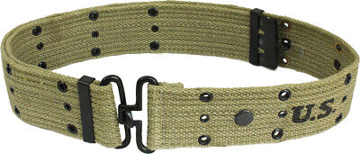 £18.22 • Buy WW2 US Olive Pistol Belt - Repro American Army Uniform Soldier Military USA New