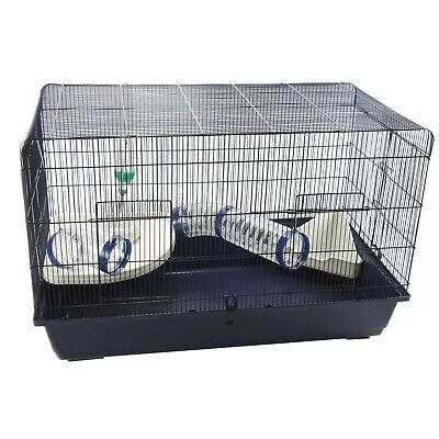 £79.99 • Buy Rat Syrian Hamster Cage 100cm With Shelf Tubes Litter Tray Bowl & Bottle -Mamble