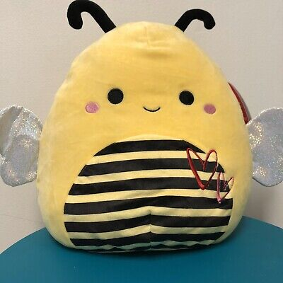 "$ CDN33.08 • Buy Squishmallows 11"" Yellow Bumble Bee Sunny 🐝 Soft Plush Pillow NEW"