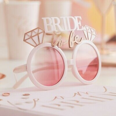 Bride To Be Glasses Hen Night Party Accessories Party Bag Favours • 1.49£