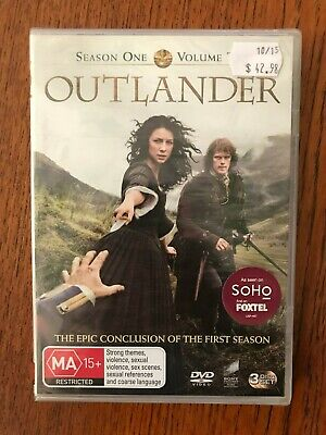 AU15.95 • Buy Outlander: Season 1 - Volume 2 DVD Region 4 New & Sealed