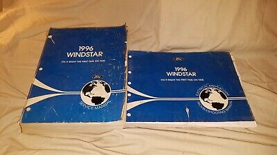 $11.25 • Buy [1996] Ford Windstar Service/Shop/Repair Manual & Electrical Vacuum Troubleshoot