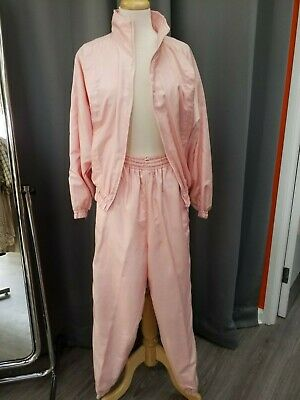 1990s Pink Shell Suit Pink Size 12 • 18£