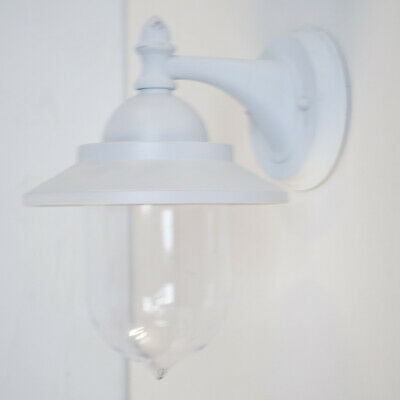 Fisherman Style 1 Arm Wall Lantern E27 Indoor Light In White Clearance Litecraft • 18.99£