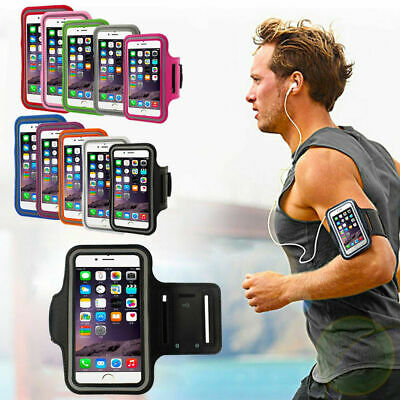 Gym Band Exercise Running Sport Waterproof Armband Case Cover For Huawei Model  • 3.99£