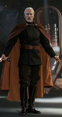 $ CDN370.27 • Buy Hot Toys Star Wars Count Dooku MMS496 - 1:6th Scale Figure Only