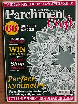 Parchment Craft Magazine - October 2018 • 1.50£
