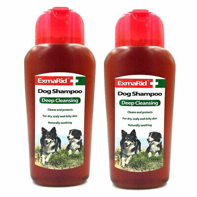 £6.29 • Buy EXMARID DOG SHAMPOO FOR DRY ITCHY SKIN 250ml. Deep Cleansing Anti Scurf