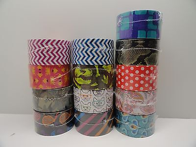 $1.49 • Buy Pick Your Design 3M Scotch Duct Tape Brand 10 Yards YOU CHOOSE