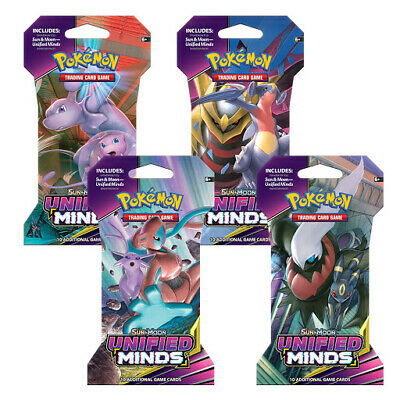 AU4.90 • Buy Pokemon Unified Minds Booster Pack
