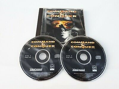 AU11.99 • Buy Retro PC CD Rom Game, Command And Conquer, Vintage Computing